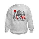 I Hold On To Hope Brain Tumor Jumpers