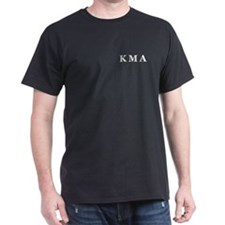 Kiss My Ass Black T-Shirt