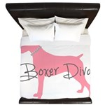 Diamonds Boxer Diva King Duvet