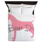 Diamonds Boxer Diva Queen Duvet