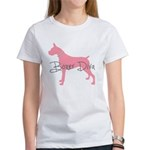 Diamonds Boxer Diva Women's T-Shirt