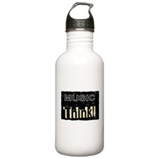 think music Water Bottle