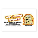 100% Real Doodle! Postcards (Package of 8)