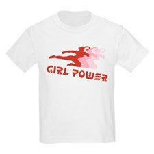 Martial Arts Girl Power Kids T-Shirt