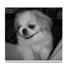 Cute Peke Tile Coaster