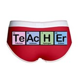 Teacher Elements Women's Boy Brief