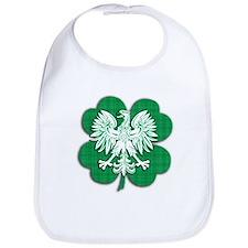 Irish Polish Heritage Bib
