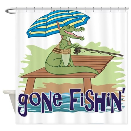 Fly Fishing Shower Curtain From Sears.com