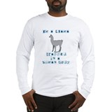 Cute Llama Long Sleeve T-Shirt