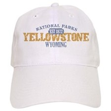 Yellowstone National Park WY Baseball Cap