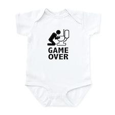 Alcohol puke toilet Infant Bodysuit