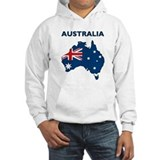 Map Of Australia Jumper Hoody