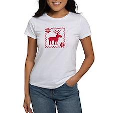 Norwegian reindeer pattern Tee