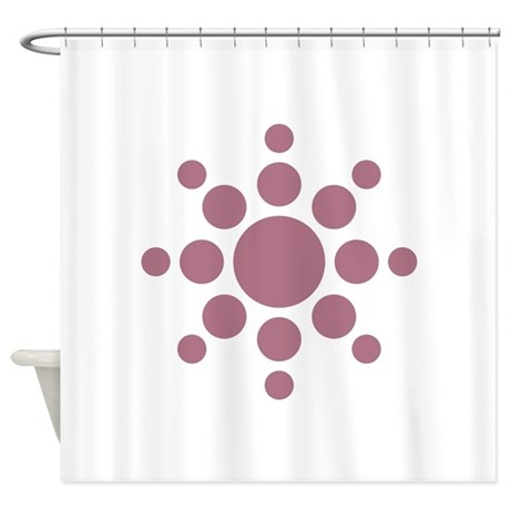 Sun Symbol Shower Curtain