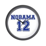 Nobama 2012 Wall Clock