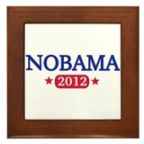 Nobama 2012 Framed Tile