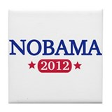 Nobama 2012 Tile Coaster