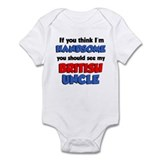 Think Handsome British Uncle Onesie