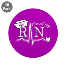 "Oncology Nurse 3.5"" Button (10 pack)"