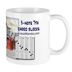 JazzMando 3-note 7th Chord Mug