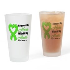 Lymphoma Support Drinking Glass