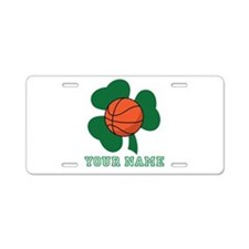 Personalized Irish Basketball Gift Aluminum Licens