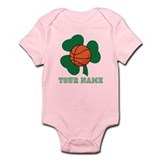 Personalized Irish Basketball Gift Infant Bodysuit