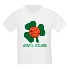 Personalized Irish Basketball Gift T-Shirt