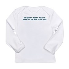 My Marxist Feminist Dialectic Long Sleeve Infant T
