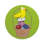 Easter Chick Ornament (Round)