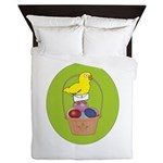 Easter Chick Queen Duvet