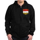 """Indonesia Flag"" Zip Hoody"