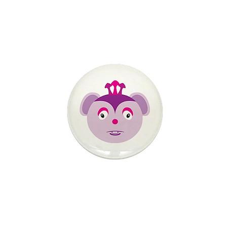 3 horned Mouse Monster Mini Button