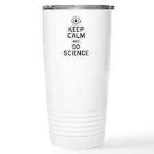 Keep Calm and Do Science Ceramic Travel Mug