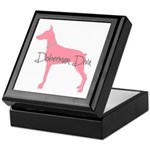 Diamonds Doberman Diva Keepsake Box