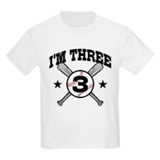 Cute 3 Year Old Baseball T-Shirt