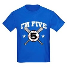 5 Year Old Baseball T