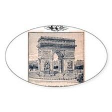 Funny Arc de triomphe Decal