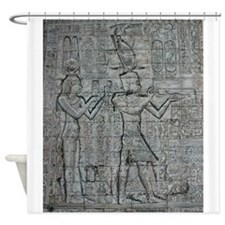 Cleopatra and Caesarion Shower Curtain