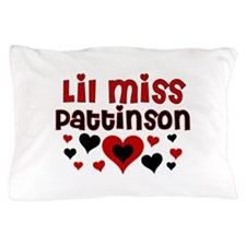 Lil Miss Pattinson Pillow Case