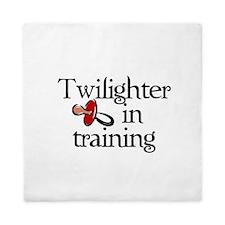 Twilighter in training Queen Duvet