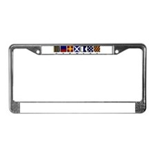 Nautical Germany License Plate Frame