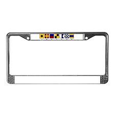 Nautical Ireland License Plate Frame