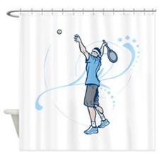Tennis. Shower Curtain