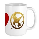 Peace, Love, Hunger Games Mug