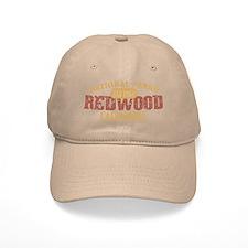 Redwood National Park CA Baseball Cap