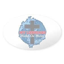 My Lifeguard Walks on Water Decal