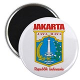 Indonesia 2.25&quot; Round Magnet