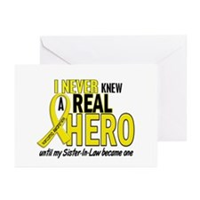 Real Hero Sarcoma Greeting Cards (Pk of 10)