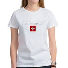 i am switzerland rough dark T-Shirt
